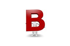B als Logo für ein Basis-Seminar von Dr. Migge Seminare