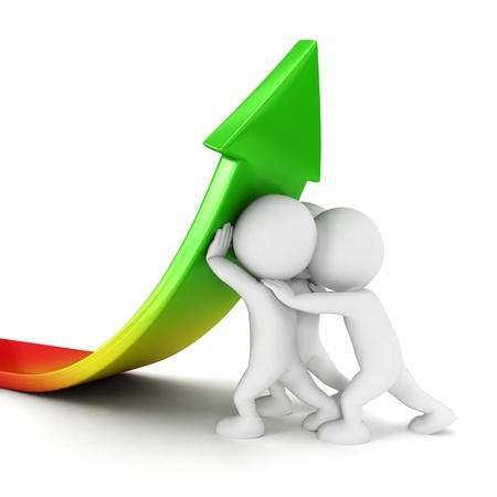 Personal und Business Coach - es geht aufwärts - mit vereinten Kräften.